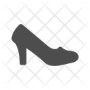 Heel Sandals Shoes Icon