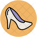 Heel Shoes Woman Icon
