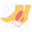 Heel Pain Icon