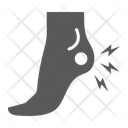 Heel Pain Body Icon