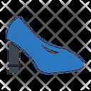 Heel Stiletto Footwear Icon
