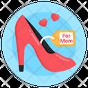 Stiletto Heel Ladies Shoe Icon