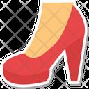 Heel Shoes Heel Sandals Woman Feet Icon