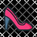 Heels Footwear Ladies Footwear Icon