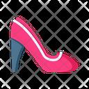 Footwear Ladies Footwear Shoes Icon