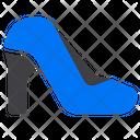 Heels Footwear Woman Icon