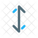 Height Scale Arrow Icon