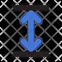 Height Size Arrow Icon