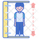 Height Limit Man Height Height Icon