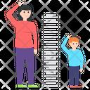 Height Measurement Icon