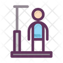 Medical Healthy Height Scale Icon
