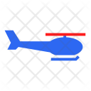 Helicopter Transport Traffic Icon
