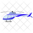 Helicopter Aeroplane Airliner Icon