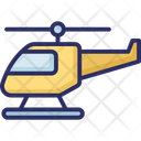 Aid Air Rescue Chopper Icon