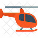 Delivery Flight Helicopter Icon