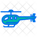 Helicopter Chopper Gyroplane Icon