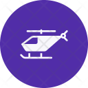 Helicopter Fly Travel Icon