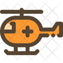 Helicopter Emergency Health Icon