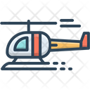 Helicopter Jet Fly Icon