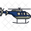Helicopter Chopper Aircraft Icon