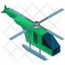 Helicopter Travel Icon