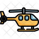 Copter Helicopter Transport Icon