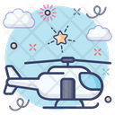 Helicopter Heli Aircraft Icon