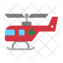 Helicopter Hospital Medical Icon