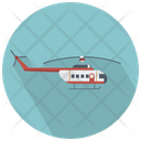 Helicopter Side View Helicopter Chopper Icon