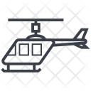 Chopper Helicopter Vehicle Icon