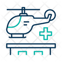 Helicopter Air Emergency Air Peramedic Icon