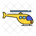 Helicopter Fly Chopper Icon
