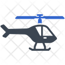 Helicopter Aircraft Travel Icon