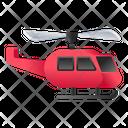 Helicopter Chopper Rotorcraft Icon