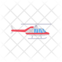 Helicopter Aircraft Chopper Icon