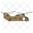 Helicopter Military Aircraft Icon