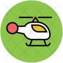 Helicopter Chopper Travel Icon