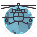 Helicopter Army Flight Icon
