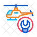 Helicopter Equipment Screwdriver Icon