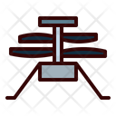 Helicopter Tech Robot Exploration Icon
