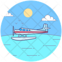 Helicopter Transport Heli Aircraft Icon