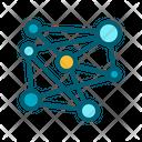 Science Molecule Genetic Icon