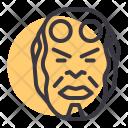 Hellboy Superhero Comic Icon
