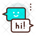 Hello Message Chat Icon