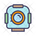 Scuba Dive Sea Icon