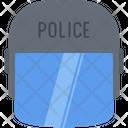 Helmet Law Police Icon