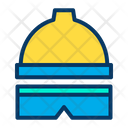 Protection Safety Construction Helmet Icon