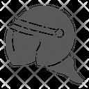 Police Helmet Protection Icon