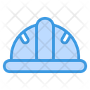 Healmet Construction Helmet Safety Icon