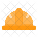 Healmet Construction Helmet Safety Icon